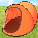 キャンプをぽんと鳴らし自動即刻セットアップ容易なフォールドのテントをハイキングする