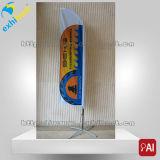 bandiera della bandierina di spiaggia della piuma di sublimazione di pubblicità esterna di 2.5m3.5m4.8m