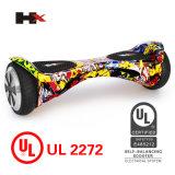 UL2272は2016年のBluetoothを8インチのタイヤの自己のバランスをとるスクーター承認した