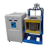 Стальная индукционная плавильная печь 50 кг со среднечастотной печью