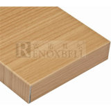 Oak di legno Grain Finished Aluminum Honeycomb Panel per Facade