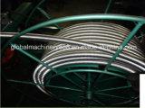 Mangueira ondulada do metal flexível de aço inoxidável que dá forma à máquina