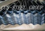 Folha de ferro ondulado HDG / chapa de telhado de metal galvanizado