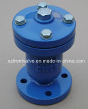 Чугун/дуктильный клапан воздуха сферы двойника утюга