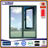 Vidrio de aluminio anodizado bronce Windows del marco