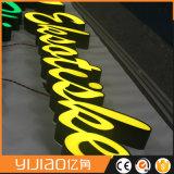 정면 Lit Signage 아크릴 LED 빛난 표준 채널 편지