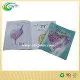 Impresión de encargo de los libros de niños de la costura de montura en Shenzhen, libro barato del cabrito del folleto (CKT-BK-012)