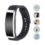 Wristband audio Wearable brandnew do bracelete do gravadora de voz do QG de 8GB 96hr
