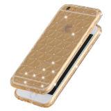 Nieuw Design 3D SOFT TPU Case met Dimond voor iPhone6