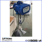 Grua Chain elétrica de velocidade dupla de Liftking 2t com trole elétrico (ECH 02-01D & ET-02D)