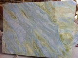 جديدة حارّة خداع [بلو سكي] حجارة طبيعيّ رخام زرقاء على ترقية