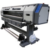 1.8m impresora plana con 2 piezas de Dx5 1440dpi de cabezales con 1440 dpi de resolución