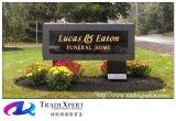 Personnalisation toutes sortes de logo d'Outdoor Billboards, Company, signes de route scéniques de granit