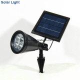 Allumium helles Scheinwerfer-Sicherheits-Solarlicht mit Colar dem Ändern