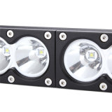 Yourparts 9-60V 60W Rigid LED lichte Bar met White/Yellow Lens (yp-8811)