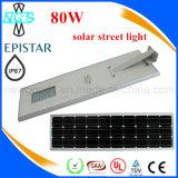 Integriertes LED-Solarstraßenlaterneeinteiliges 6W-80W