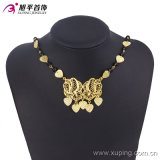 Un Oro-Plated Delicate Women Jewelry Necklace di 42756 modi in Copper Alloy Without nessuno Stone