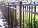 Frontière de sécurité de panneau de frontière de sécurité de piquet de couleur noire/en aluminium en acier
