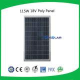 Горячее сбывание 2016! поликристаллическая панель солнечных батарей 135W