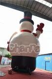 膨脹可能なおもちゃの膨脹可能なクリスマスの雪の人の広告