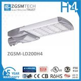 Lumiled Luxeon 3030 LED StraßenlaterneIP66 Ik10 des Chip-40W 80W 120W 160W 200W LED
