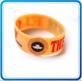 Printing Qr Code (HN-WD-036)の昇進のGift Silicon Bracelet