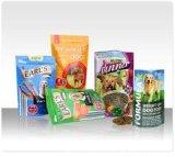 Широкий различный пластичный мешок еды любимчика выбора Customed