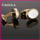 VAGULA新しいデザインシェルのカフスボタンL52502