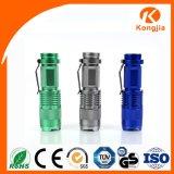 Goede het LEIDENE van de Sporten van het Ontwerp van de Levering van de Fabriek van China van de Kwaliteit Hete Lichte Kleine Navulbare 3W Kamperen van de Toorts