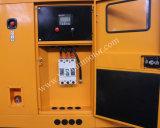 ATS silencioso de refrigeração água do gerador de potência do motor Diesel