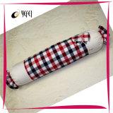 Хлопчатобумажная пряжа покрасила проверила декоративную подушку софы перемещения кровати тела памяти