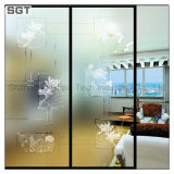 Galleggiante Acid Etched/Frosted Galss per Glass Partition