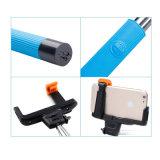 El palillo Monopod de Selfie del cable ató con alambre el cable audio toma a poste Monopod Handheld para el iPhone 6 más
