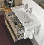 Mobilia Sanitaryware del bagno di vanità del dispersore del Governo di stanza da bagno del PVC con lo specchio