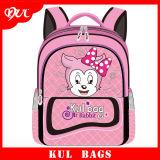 Saco de Escola Bonito do Personagem de Banda Desenhada da Trouxa Encantadora Cor-de-rosa da Escola das Meninas Kl1001