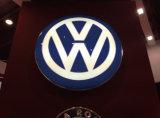Logo extérieur de véhicule de Thermoforming de vide d'éclairage de Luminated DEL