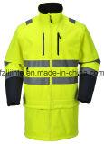 Jasje van de Veiligheid van Workwear van het Zicht van de winter het Hoge