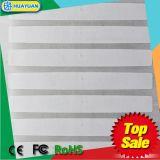 Étiquette de papier faite sur commande de fréquence ultra-haute d'IDENTIFICATION RF de la GEN 2 AD-320 U7 de la classe 1 de la taille ISO-18000-6C CPE d'étiquette de HUAYUAN pour l'habillement et le détail