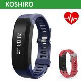 Bracelete de relógio esperto da frequência cardíaca de Bluetooth
