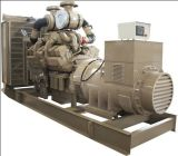 тепловозный молчком комплект генератора 600kw/725kVA