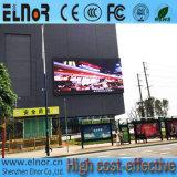 Schermo esterno di colore completo LED del consumo P10 di potere basso