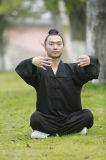 Roupa ortodoxo de primeira qualidade do Taoist do colar do Taoism da escola dos homens do qui de Wudang TAI