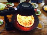 ピザ吠えるオーブンの深く平らな鶏のフライヤーのベーキング皿(ZJLY)