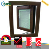 Australisches doppeltes glasig-glänzendes UPVC französisches Standardflügelfenster Windows