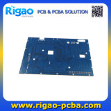 Placa do PWB de DVR com máscara azul da solda