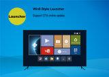 Kodi ha preinstallato la casella di memoria TV del quadrato del contenitore Tx7 2g 16g Amlogic S905X di Android 6.0 TV