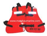 기름 Platform Marine Work Vest와 Life Jacket