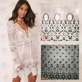 Merletto lavorato a maglia Crochet africano del cotone di modo per gli indumenti/tessuto del merletto/merletto del ricamo