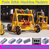 機械を作るQt40-3bの移動式空のコンクリートブロック