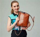 Classic Style, Pure Oil Wax Leather Brand Handbag